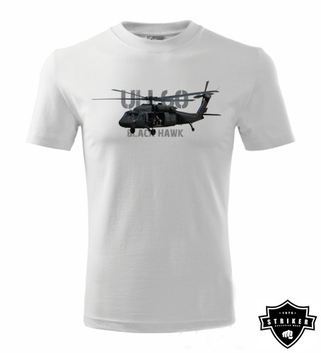 Tričko STRIKER BLACK HAWK UH-60