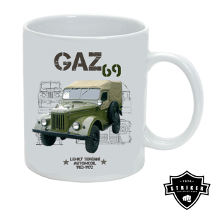Hrnek STRIKER GAZ 69