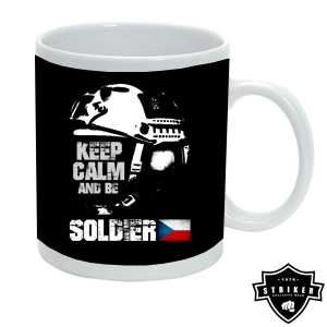 Hrnek STRIKER KEEP CALM AND BE SOLDIER