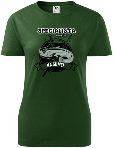 966e9962d8e Dámské tričko STRIKER Specialista na sumce