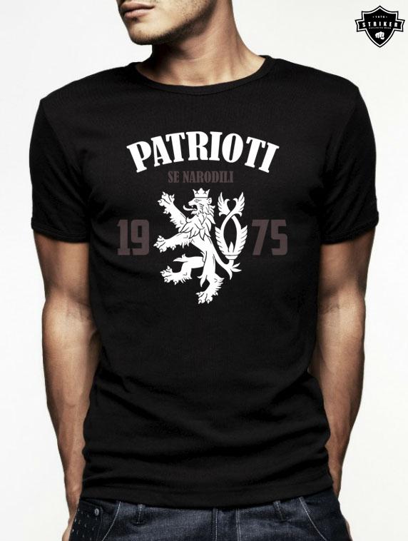 8572c0dad8cb Pánské tričko STRIKER PATRIOTI se narodili empty