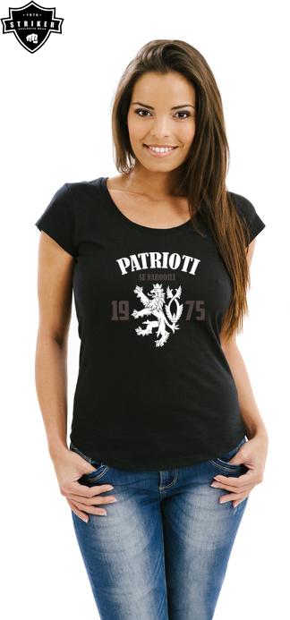 d5cae1ad7be6 Dámské tričko STRIKER Patrioti se narodili empty