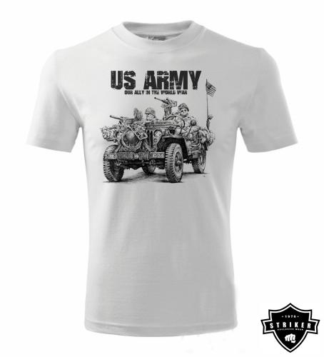 Tričko STRIKER JEEP US ARMY ccc0a844a5