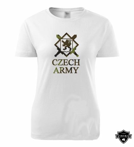 6c3d96364e6f Dámské army tričko STRIKER ZNAK AČR vz. 95