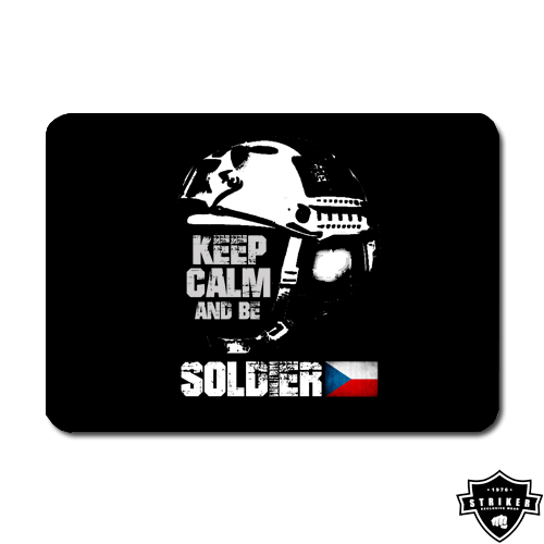 Podložka pod myš STRIKER Keep Calm and be soldier