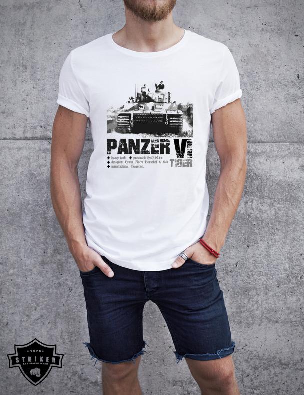 dd6c9610837 Tričko STRIKER TANK PANZER VI TIGER
